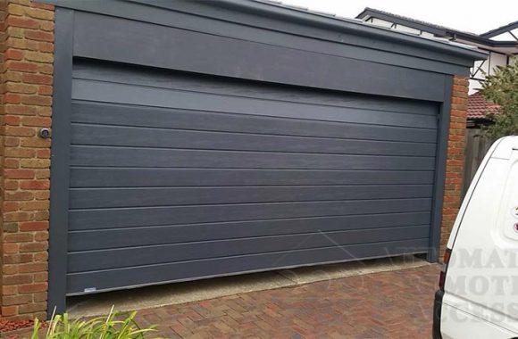 Slimline design - Ironstone Sectional/panellift Door