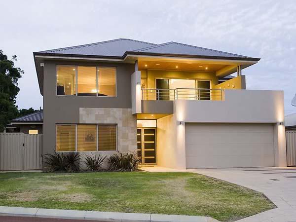 Flatline design Panel lift Door Shale Grey Colour