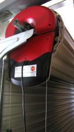 Roller garage door motor