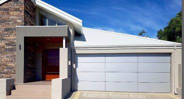 custom aluminium garage door